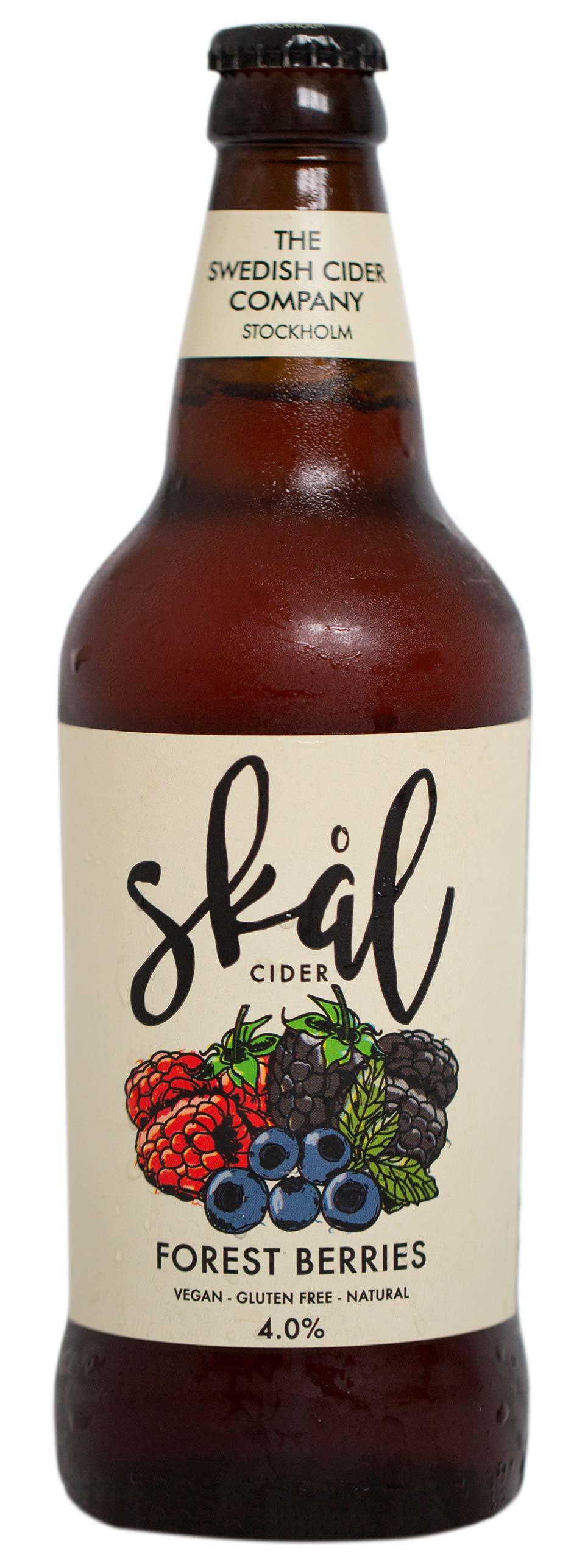 Skål Forrest Berries cider